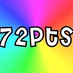 72pts